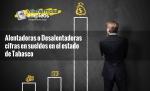 Alentadoras o Desalentadoras cifras en sueldos en el estado de Tabasco